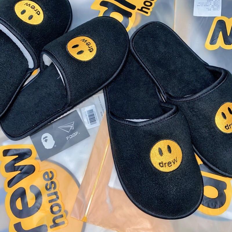 [FDOF] 現貨 Drew House 微笑室內拖鞋 橘色 黑色