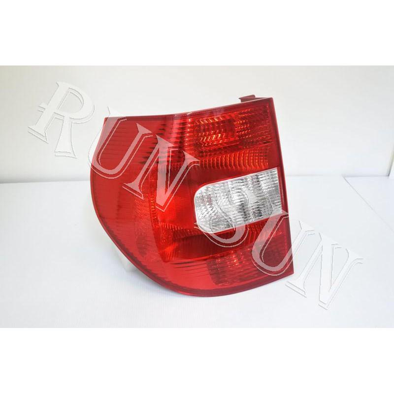 ●○RUN SUN 車燈,車材○● 全新 SKODA 斯柯達 10 2011 2012 YETI 原廠型紅白 尾燈 一顆