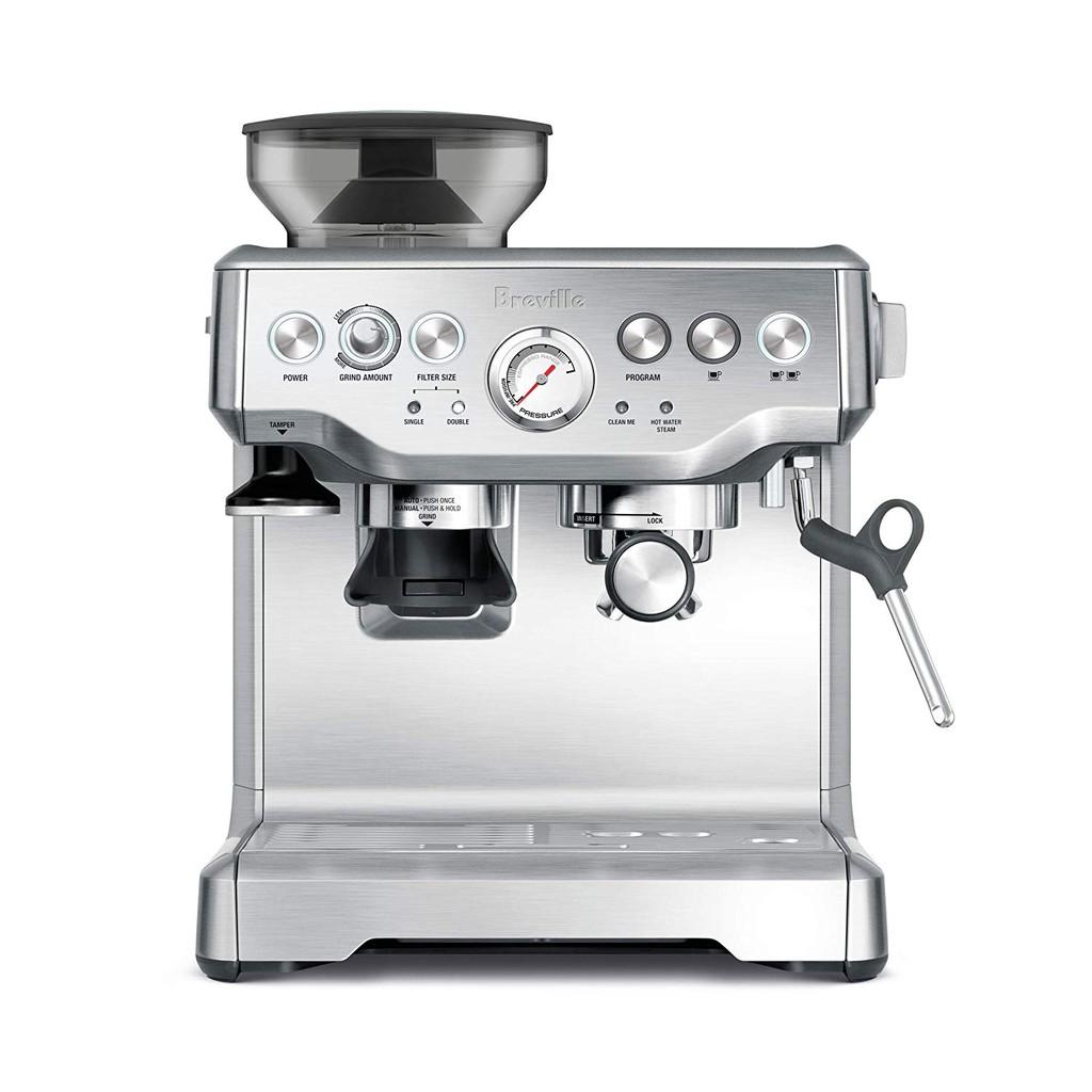 Breville 澳洲代購 BES870XL 咖啡機 Espresso 濃縮咖啡 專業咖啡機 半自動 手動 全配 磨豆