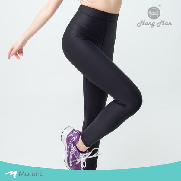 【Marena 瑪芮娜】日常 塑身 運動 系列 輕塑 高腰 九分 塑身褲