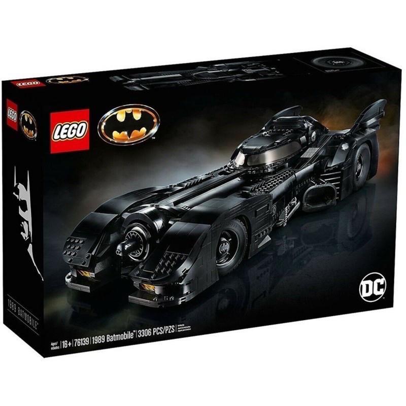 全新 LEGO 76139 蝙蝠車 DC 超級英雄 Batmobile UCS 1989 7784 76023