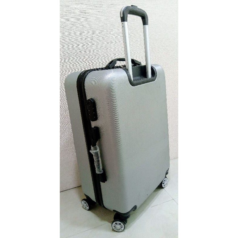 REBACCA 20吋ABS 直條古銅行李箱/登機箱/航空箱/時尚航空登機箱尺寸:長35 ,寬21,高54(含輪子)