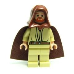 樂高人偶王 LEGO 絕版-星戰系列#7665 sw0172 Qui-Gon Jinn