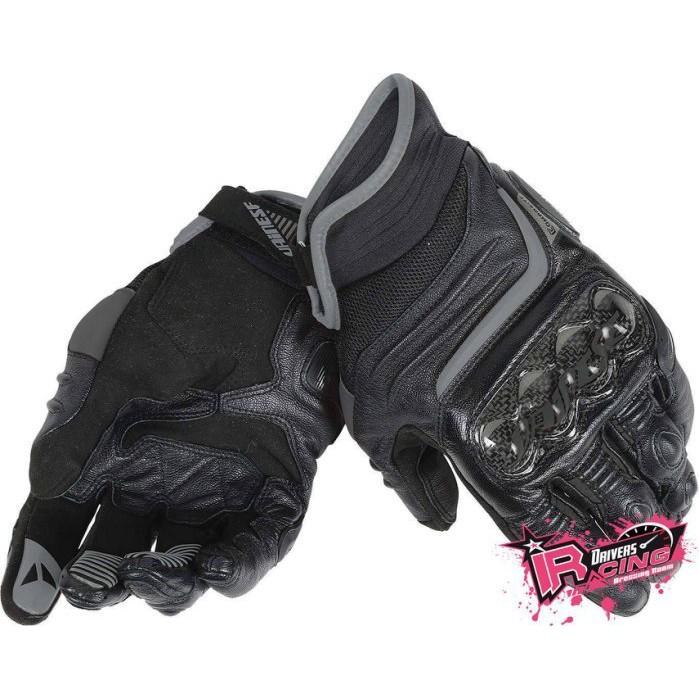 ♚賽車手的試衣間♚Dainese® Carbon D1 Short Ladies Black 女版 碳纖維 短手套