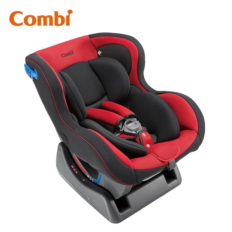 Combi WEGO 0-4歲豪華型安全汽車座椅-宮廷紅【福利品】【甜蜜家族】