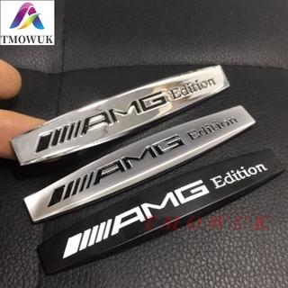 (現貨)賓士 benz AMG葉子板標誌 貼紙 金屬標誌 後尾箱貼標 C200 C250 C300 E250 A180