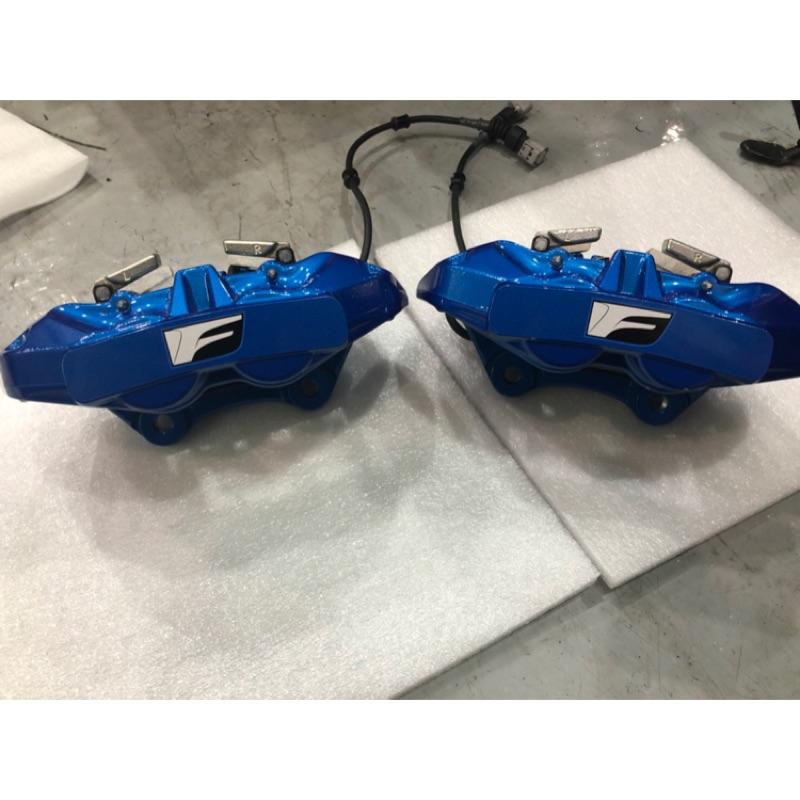 全新Lexus 藍色原廠後四卡鉗含來令RC-F,GS-F