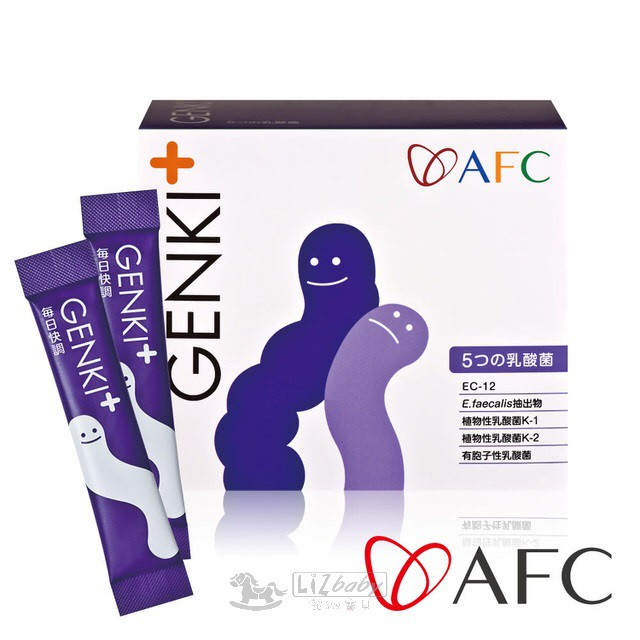 【AFC】GENKI+ 每日快調 60包/盒(日本原裝)