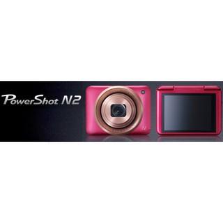 Canon Powershot N2粉餅機(桃紅色,全配,近全新) 新北市