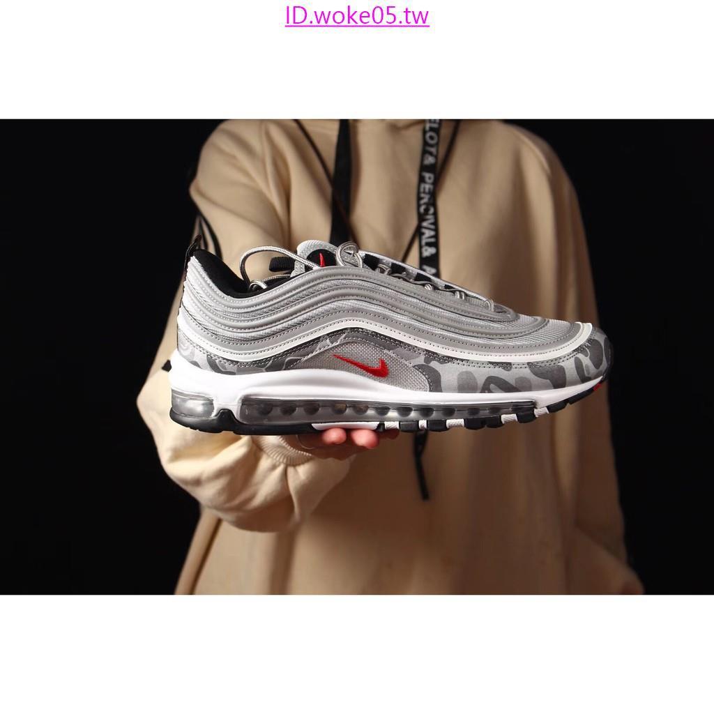 100% authentic 14668 c6ae7 耐吉 Nike Air max 97 × Bape 猿人頭 概念聯名款子彈運動鞋休閒鞋慢跑鞋男女鞋