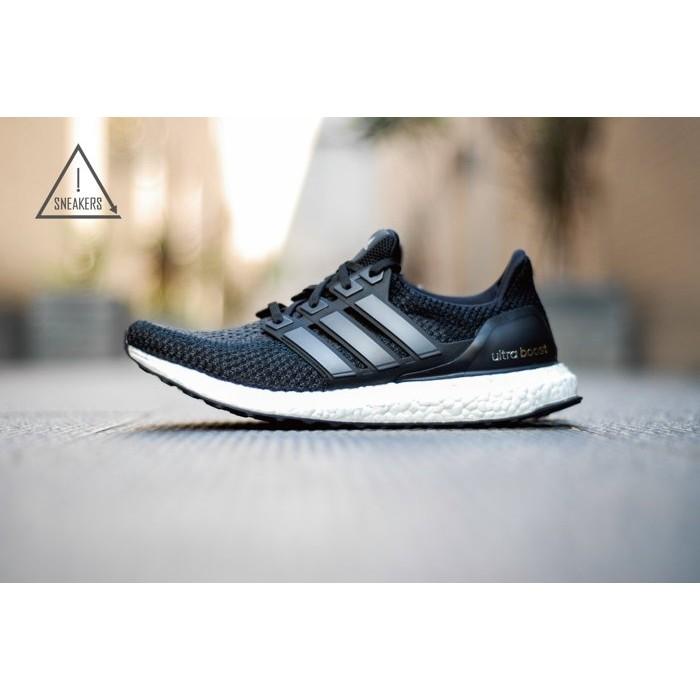 quality design 68584 8aca7 ISNEAKERS ADIDAS ULTRA BOOST 2.0 黑白 編織 男鞋 BB3909