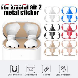 適用於小米Air 2耳機套防塵膜超薄金屬防刮防塵貼紙