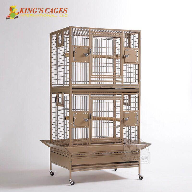 【客訂指送】美國King'sCages 美式經典升級款繁殖籠 (大號) 鸚鵡籠子 /鳥籠