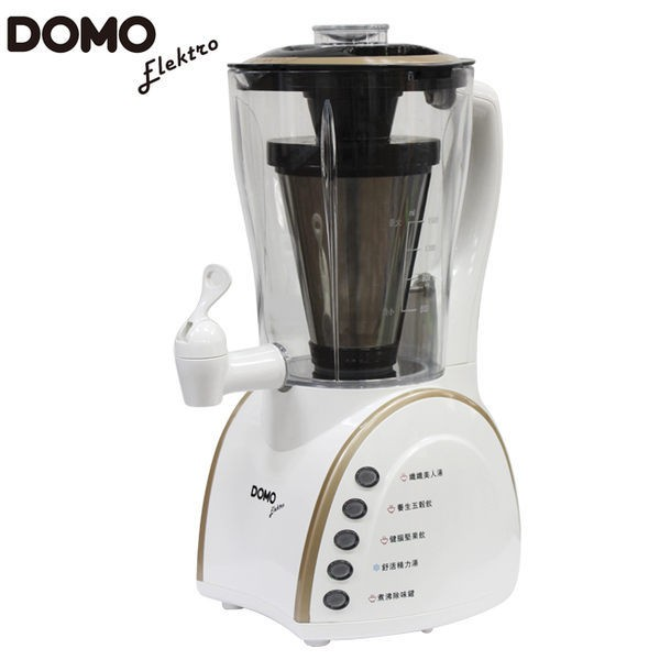 比利時DOMO自動加熱舒活養生調理機/豆漿機(DJ-1102)