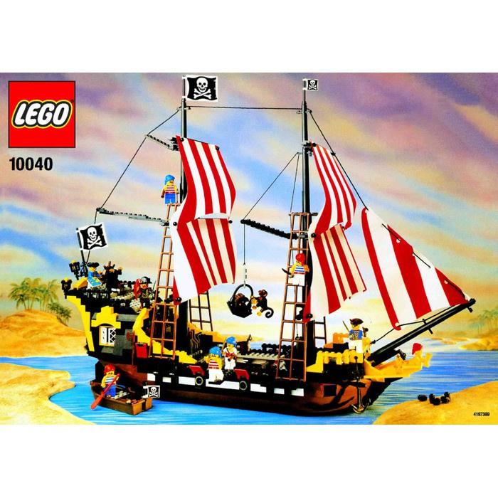 [Yasuee台灣] LEGO 樂高 10040 絕版懷舊海盜船 盒組 下單前請先詢問