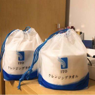洗臉巾 一次性  日本ITO洗臉巾 純棉 幹濕兩用 80抽