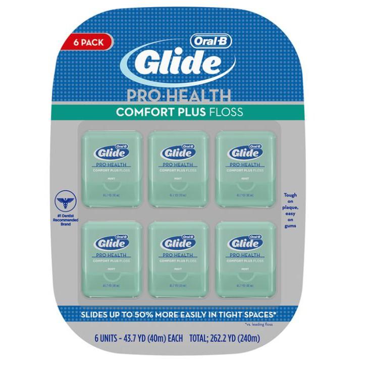 [現貨]好市多代購  歐樂B Glide 清潔舒適牙線 - 薄荷口味 40 公尺 1 入