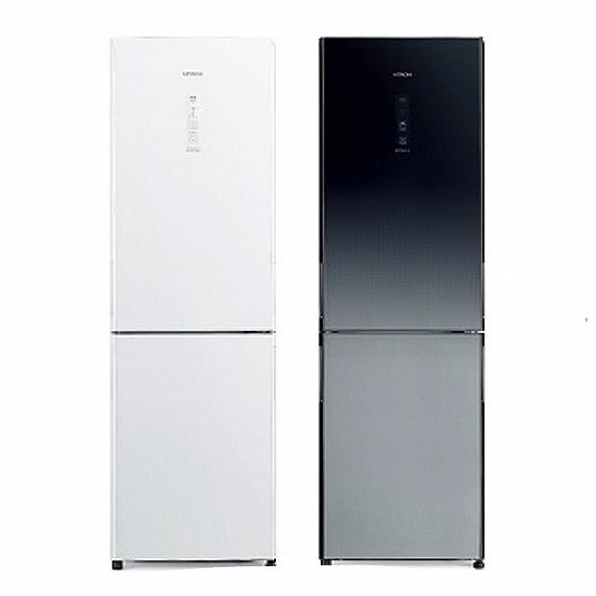 日立雙門琉璃冰箱(313L)RBX330