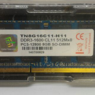 V-Color NB 8G DDR3 1600 SO-DIMM 新北市