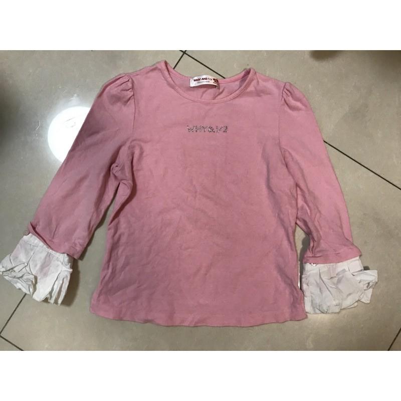 1/2 WHY AND 1/2 長袖上衣 上衣 女童 T恤