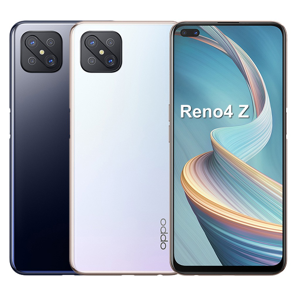 OPPO Reno4Z 5G【加送空壓殼+滿版玻璃保貼-內附保護套+保貼】8G/128G