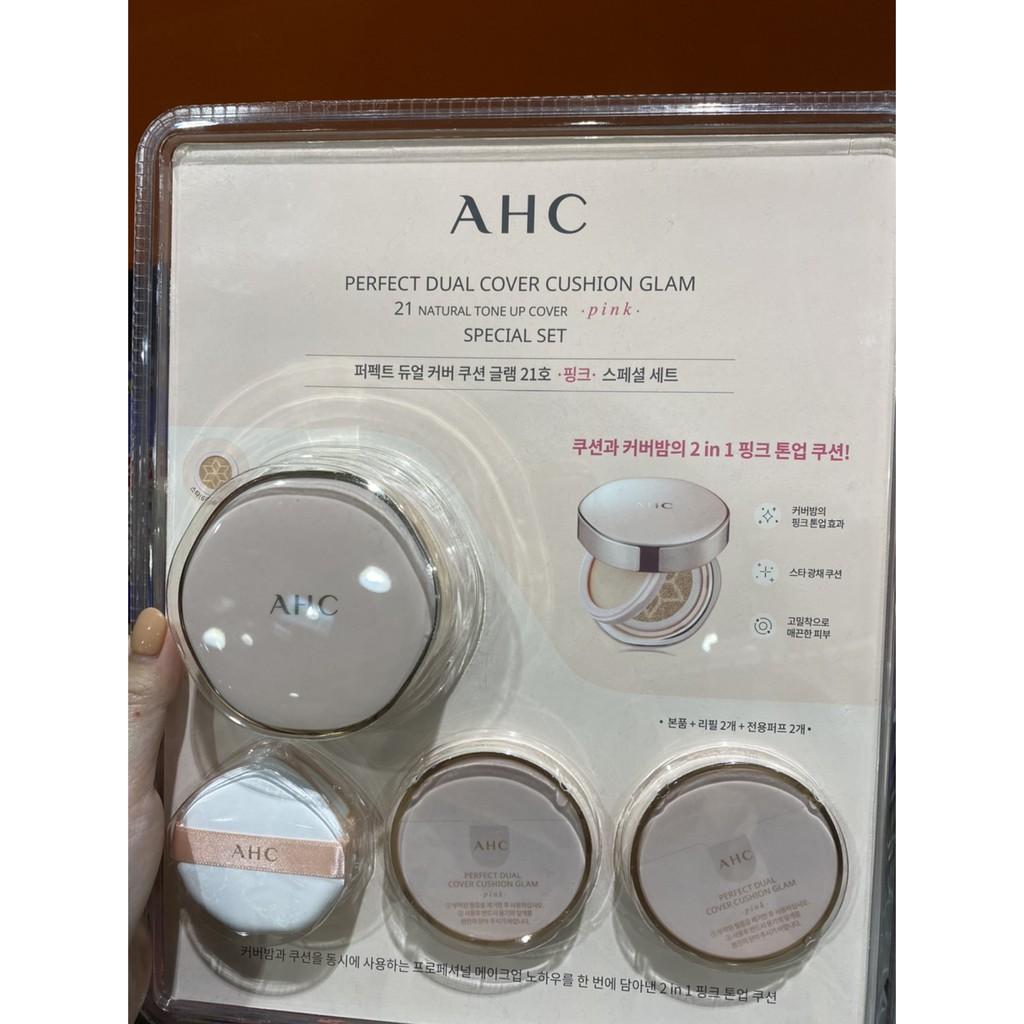AHC 氣墊粉餅組 白皙色 化妝品 粉底遮瑕 好市多 COSTCO