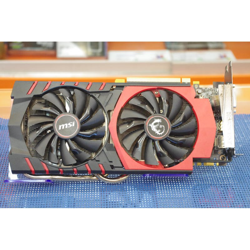二手良品 微星 GTX970GAMING 4GB DDR5 PCI-E顯示卡 ⇖V186⇘
