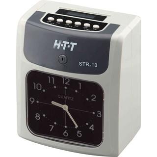 HTT 六欄位 雙色帶 打卡鐘 STR-13 鈴聲/ 鬧鈴功能 精準石英振盪設計 新北市