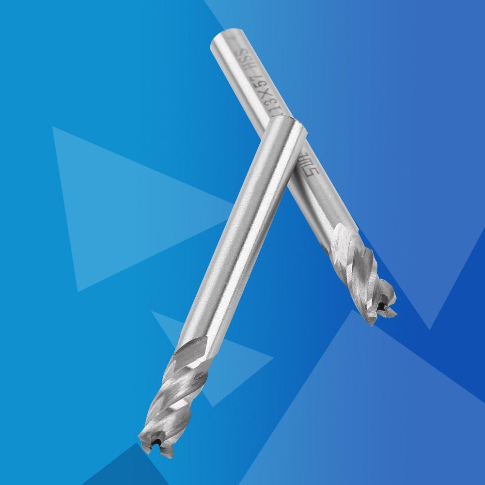 軋機HSS金屬鑽頭銑刀銑床數控6mm 2pcs端部4切割