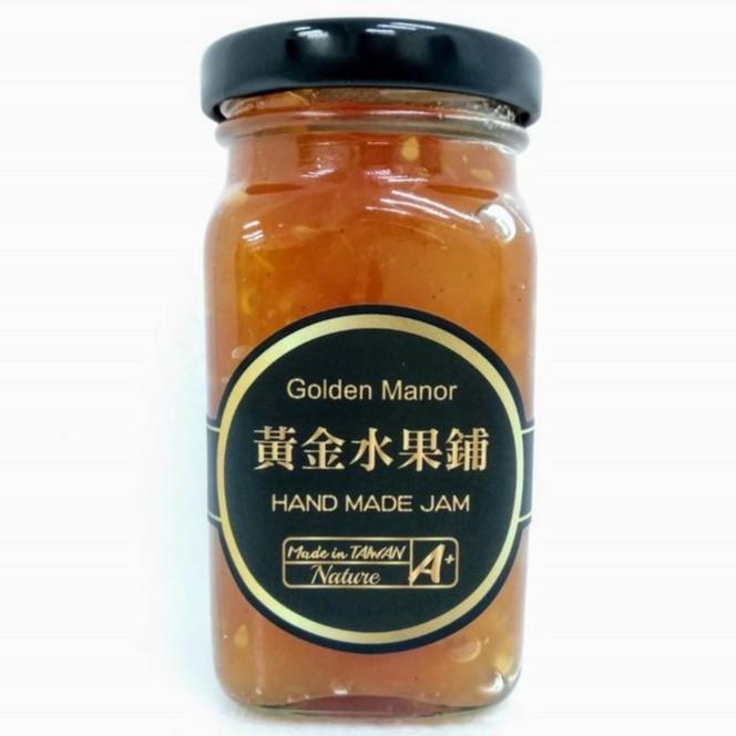 【黃金水果鋪】肉桂番茄蘋果 手作果醬(方瓶)130g