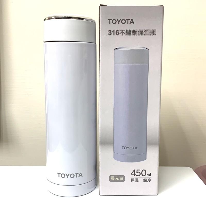 Toyota 316 不鏽鋼保溫瓶 晨光白