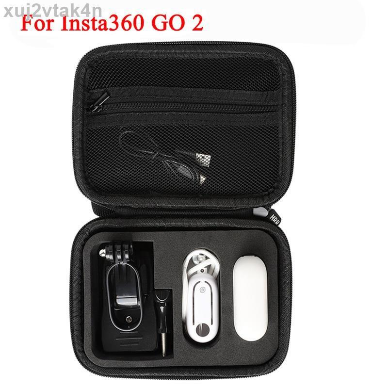 Insta360 GO 2 儲物袋 Mini EVA 手提箱手提包保護盒, 用於 Insta360 GO2 相機配件