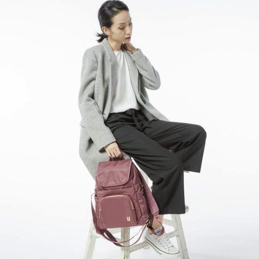 ☆SUMDEX☆人體工學設計 高級後背包 網路最低價 經典 商務 後背包 都會 時尚 平板包 筆電包 765CR 紅色