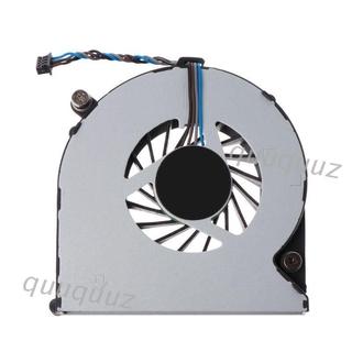 Quu散熱風扇筆記本電腦CPU散熱器5V 0.5A筆記本電腦4針,適用於HP Probook 4530S 4535S 6