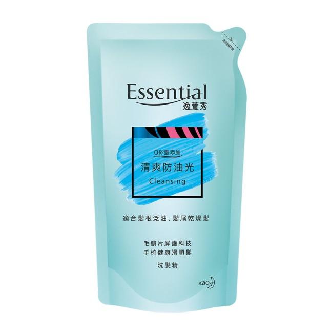 逸萱秀清爽防油光洗髮精補充包 550ML