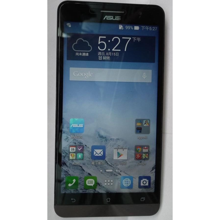 二手空機ASUS Zenfone 6吋螢幕IPS 2G16G華碩安卓4.4.2 3G智慧型手機T00G雙卡A600CG