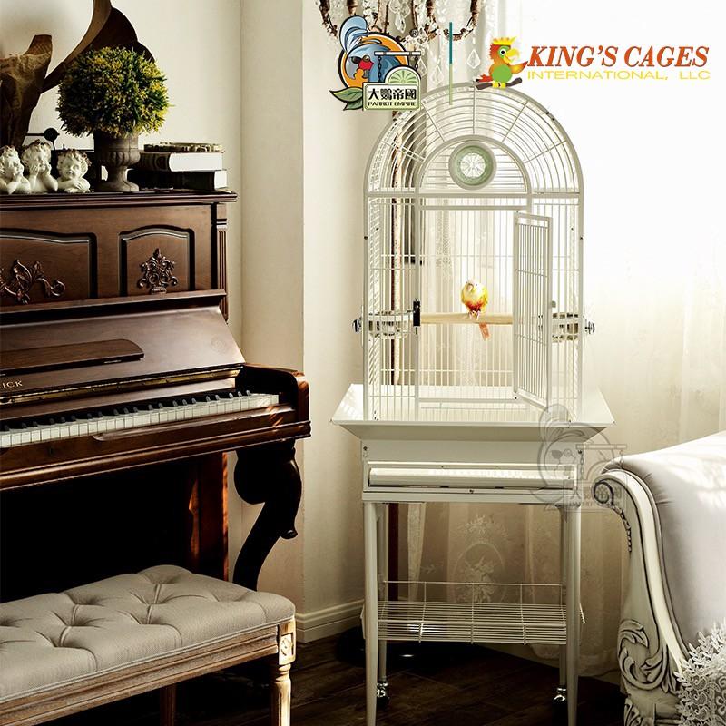 【大鸚帝國】美國金氏KING'S CAGES / 法式宮廷籠 (小型) / 鸚鵡鳥籠 / 高雄總店實品展示