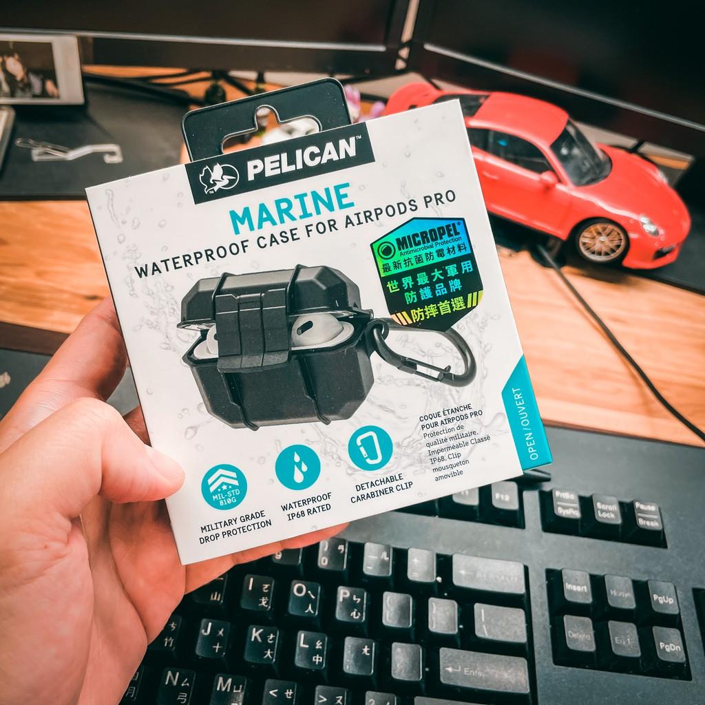 美國 Pelican 派力肯 airpods / airpods pro 防水防摔保護 marine 蛋殼手機配件屋