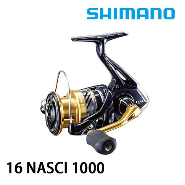中高階捲線器到貨1000~5000猛哥釣具正Shimano NASCI C3000DH型 16年捲線器 磯釣路亞海釣場