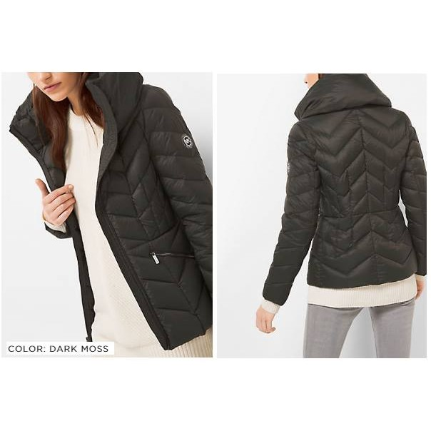《MK-Michael Kors Packable Quilted-Nylon Jacket 羽絨外套》