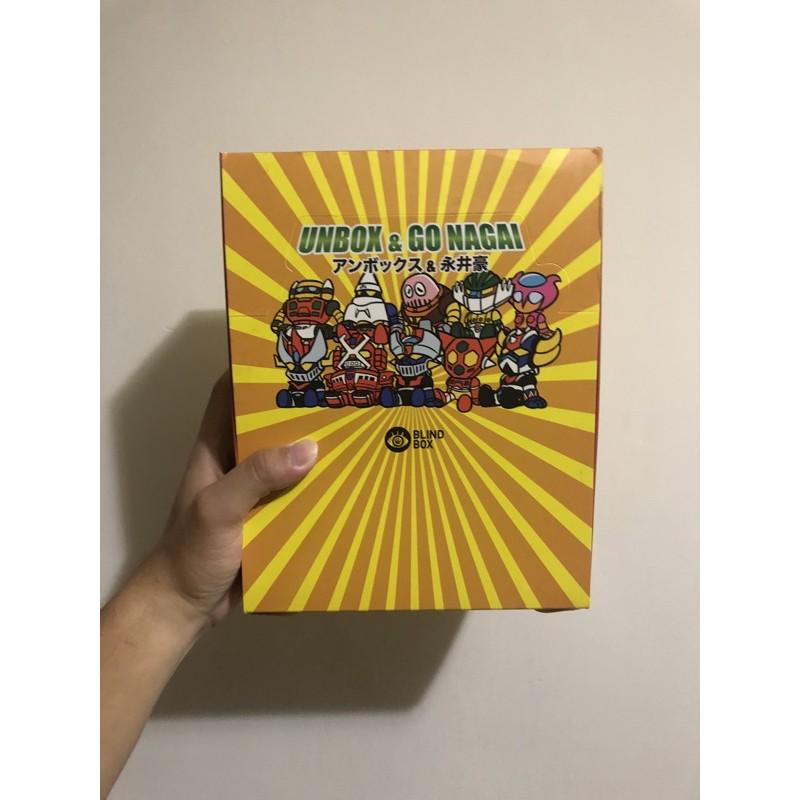 Nagai x Unbox 永井豪 盒玩 無敵鐵金鋼 中盒未拆