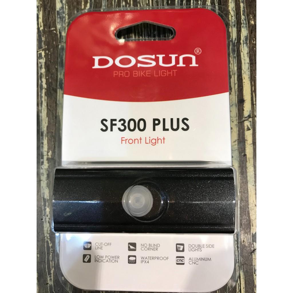 [304bike 台北市]Dosun SF300plus SF300+ 自行車前燈 單車車燈 單車前燈