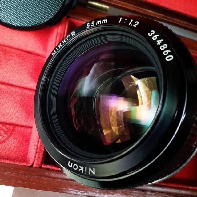 "Nikon Nikkor K 55mm F1.2 ""夜之眼""人像鏡王"