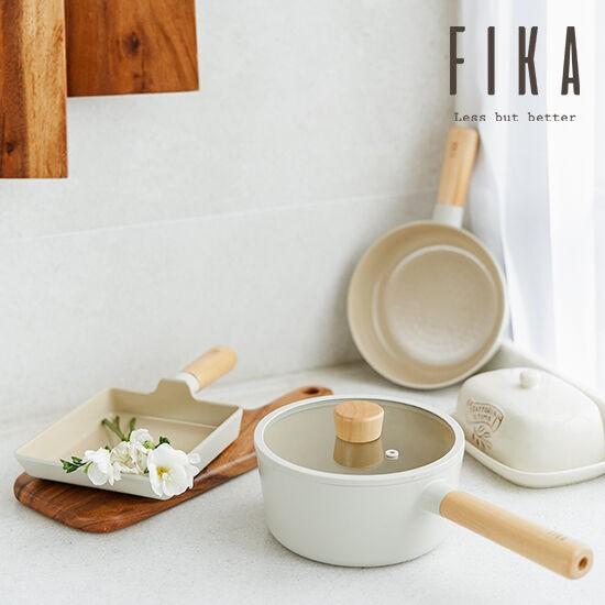 現+預購|韓國 Neoflam Fika  好好下廚 北歐 純白 設計鍋具 不沾鍋 鍋蓋 湯鍋 炒鍋 燉鍋 牛奶鍋