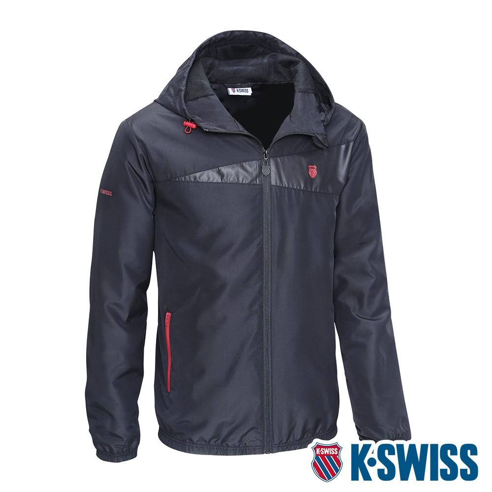 K-SWISS Ct Solid Jacket 2風衣外套-男-黑