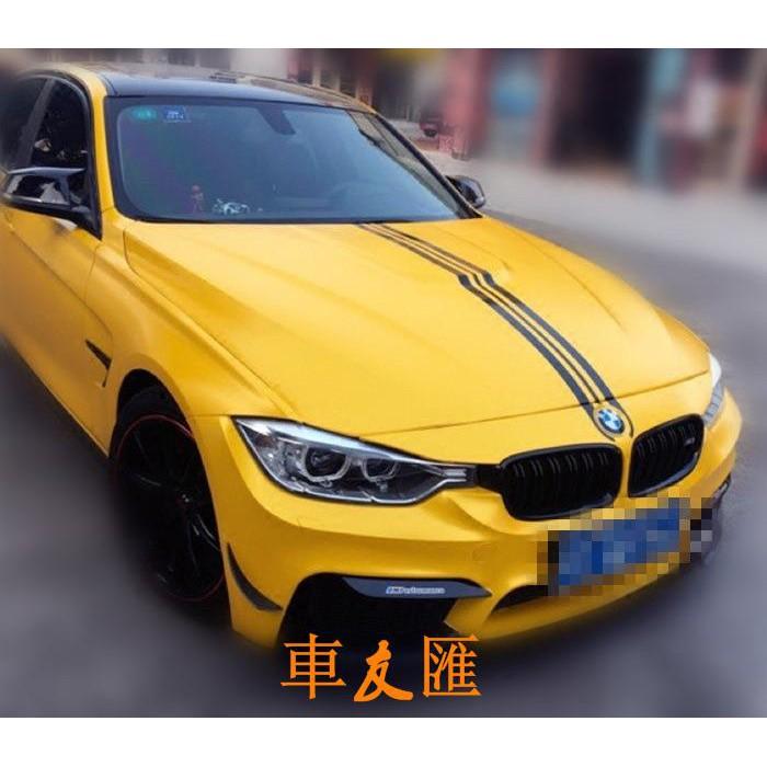 寶馬 機蓋貼 汽車貼紙 引擎蓋改裝貼 車身貼 拉花 BMW F01 F02 F10 F20 F30 F34 F35