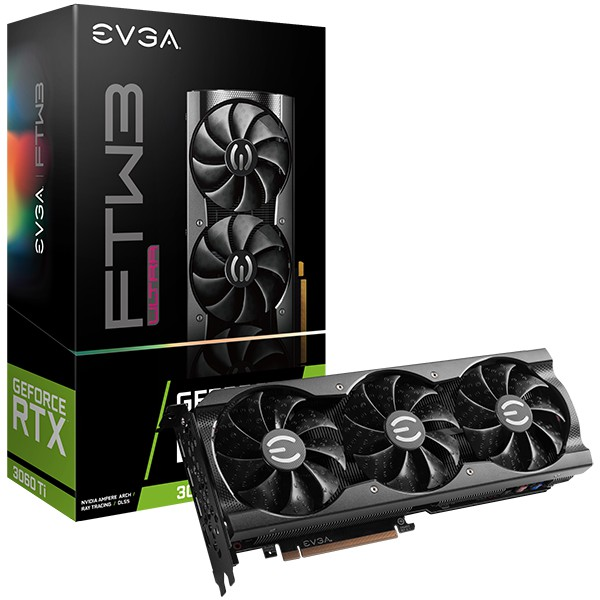 全新現貨 rtx 3060 ti EVGA GeForce RTX 3060 Ti FTW3 ULTRA GAMING,