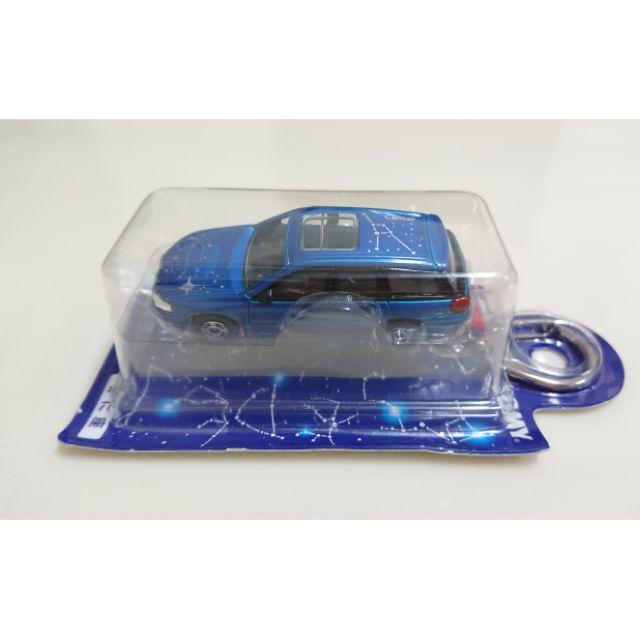 【現貨】Tomica Tomy  日版 玩具反斗城 星座合金車鑰匙圈 巨蟹座 Subaru legacy
