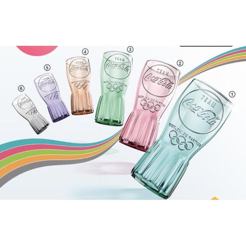 絕版 2020 2021 東京奧運 麥當紀念杯 玻璃杯 六色隨機出貨 買幾個都不挑色
