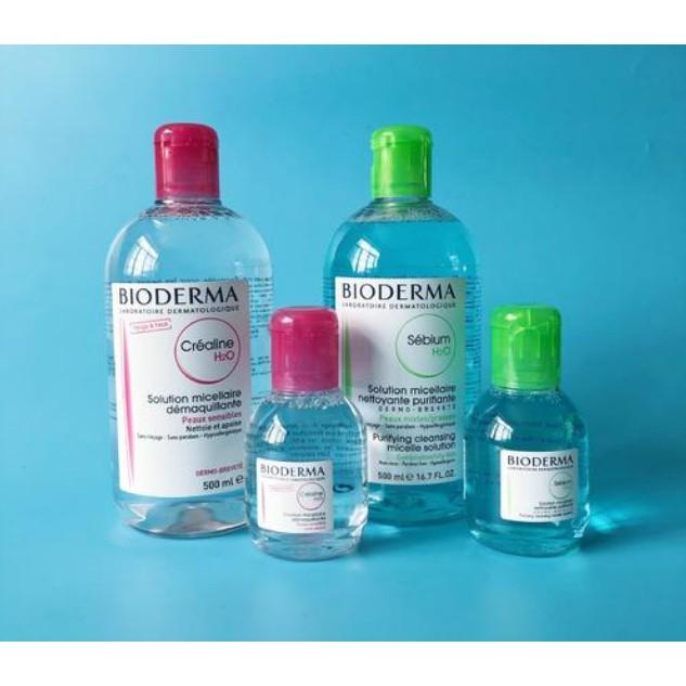 貝德瑪 卸妝水 溫和不刺激 舒妍/淨妍 100ml 500ml 高效潔膚液 卸妝液 按壓頭